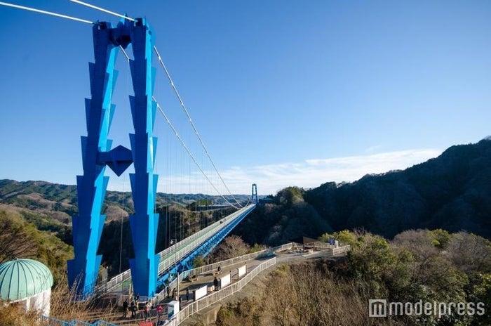 竜神大吊橋/画像提供:(一社)茨城県観光物産協会