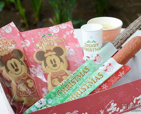 ディズニークリスマス、限定デザート 初登場のあったかドリンクも
