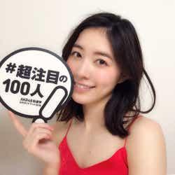 SKE48松井珠理奈『AKB48総選挙公式ガイドブック2018』(5月16日発売/講談社)公式ツイッターより