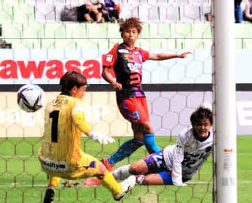 INAC神戸 無失点で開幕5連勝 FW田中が待望の初得点「絶対にゴールを」