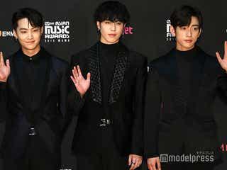 GOT7 JB&ジニョン&ユギョム「2018 MAMA FANS'CHOICE in JAPAN」レッドカーペットに登場