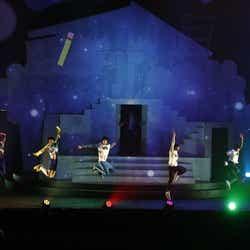 舞台『おそ松さん on STAGE ~SIX MEN'S SHOW TIME 2~』ゲネプロ(提供写真)