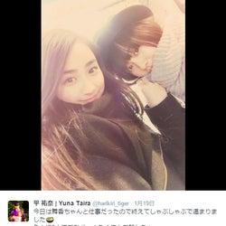 """山本舞香&平祐奈""""JR SKISKI""""ヒロイン2ショットに反響「美女コンビ」"""