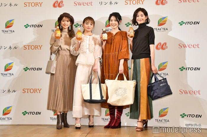 (左から)小室安未、吉木千沙都、森貴美子、高垣麗子(C)モデルプレス