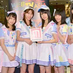 左から:行天優莉奈、高橋彩音、舞木香純、吉川七瀬、清水麻璃亜、佐藤朱 (C)モデルプレス