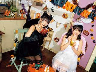 HKT48矢吹奈子&田中美久、可愛さ際立つハロウィン・クリスマスコーデで魅了