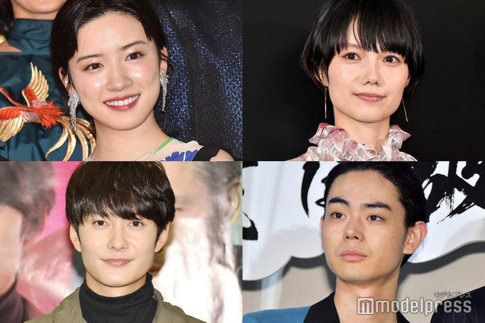(上段左から)永野芽郁、宮崎あおい(下段左から)岡田将生、菅田将暉(C)モデルプレス