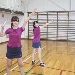 モデルプレス - 乃木坂46佐藤楓&向井葉月、ユニフォーム姿が眩しい