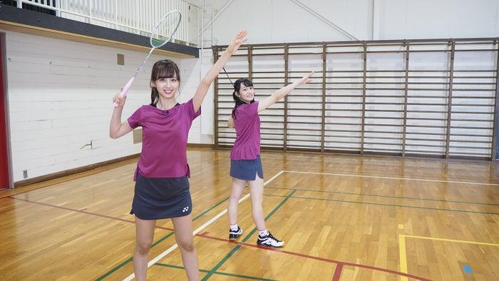 佐藤楓、向井葉月(写真提供:テレビ朝日)