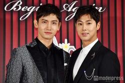 東方神起(左から)チャンミン、ユンホ (C)モデルプレス