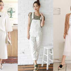 モデルプレス - 最強トレンドコーデは「オールホワイト」ファッションにアリ!