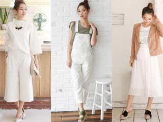最強トレンドコーデは「オールホワイト」ファッションにアリ!