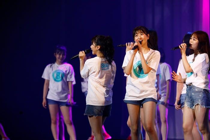 松岡はな/HKT48 8周年前夜祭コンサートの様子(C)AKS