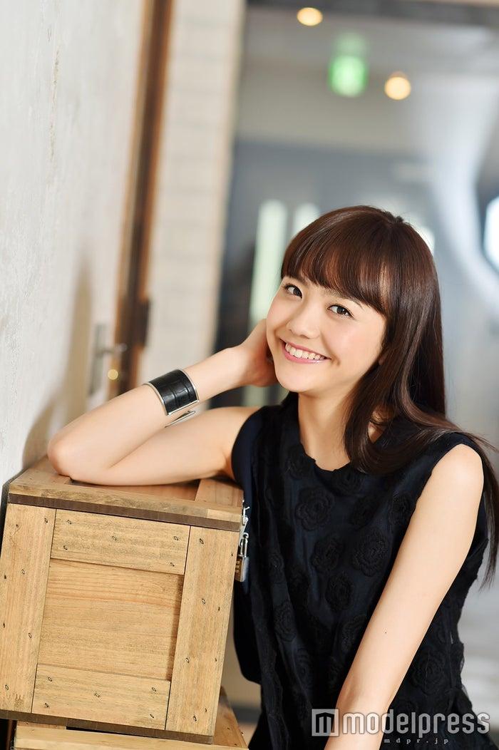 取材に応じた松井愛莉(C)モデルプレス