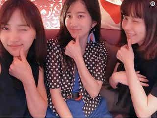 永尾まりや&島崎遥香&竹内美宥、AKB48同期ショットにファン歓喜