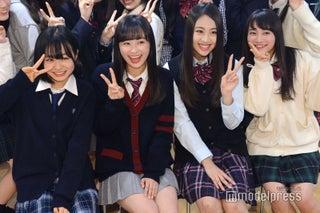 "「Popteen」莉子&鈴木美羽、lol・moca、""日本一かわいい女子高生""福田愛依、制服事情を告白「5折りくらいする」"