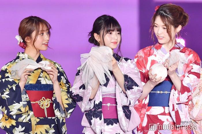桜井玲香、齋藤飛鳥、松村沙友理 (C)モデルプレス