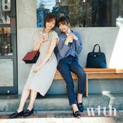 モデルプレス - 欅坂46小林由依&乃木坂46梅澤美波、「with」で息ぴったりの初共演