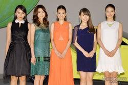 葛岡碧、泉里香、石田ニコルらが美の競演 華麗なドレスアップで魅了