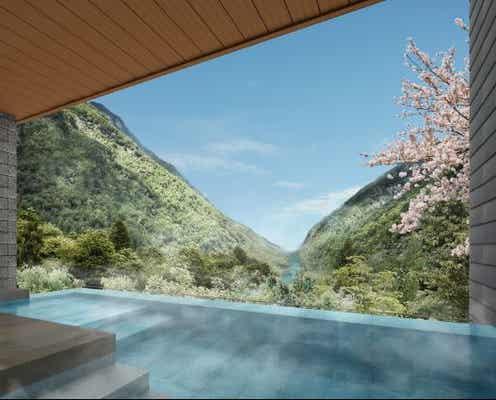 箱根湯本の温泉宿「ホテルはつはな」全室露天風呂付きにリニューアル