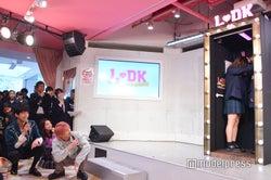 高校生カップルの壁ドンを笑顔で見守る(左から)杉野遥亮、上白石萌音、横浜流星(C)モデルプレス