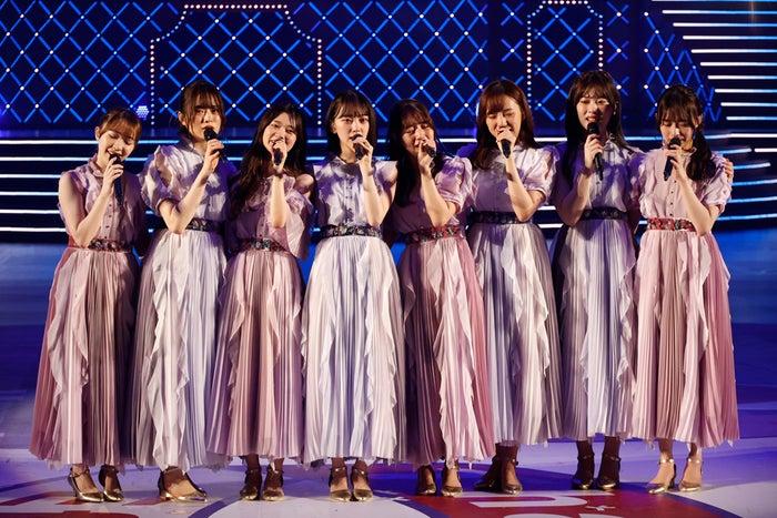 2期生の8人「9th YEAR BIRTHDAY LIVE ~2期生ライブ~」(提供写真)