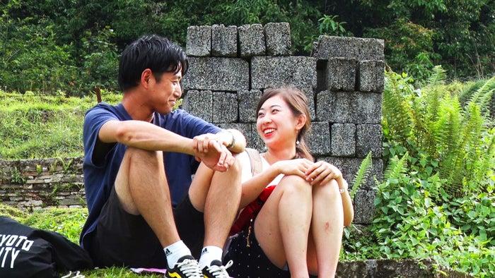 みゃんまーに告白するユウちゃん「あいのり:Asian Journey」シーズン2第9話より(C)フジテレビ