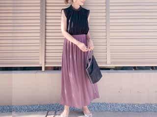 【ユニクロ】買って大正解!大人気クレープジャージ―「スカート見えパンツ」が優秀