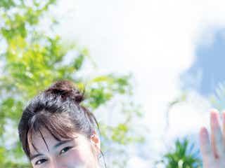 「キュウレンジャー」大久保桜子、美谷間くっきり眩しい笑顔