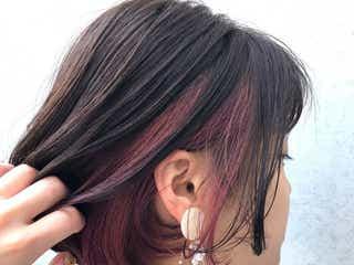 《ピンクのインナーカラーヘア》20選 さりげなく入れてるのがおしゃれ!