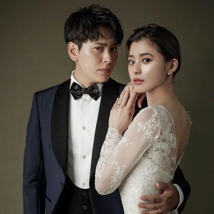 結婚の山下健二郎&朝比奈彩、ウェディングフォトに反響殺到「美しすぎる」「雑誌の表紙かと」
