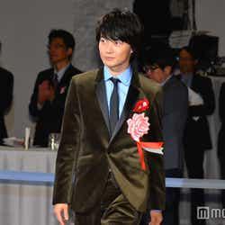 モデルプレス - 神木隆之介、「君の名は。」受賞で新海誠監督に労い<第41回報知映画賞>