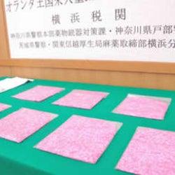 国際郵便で合成麻薬9千錠密輸、神奈川県警が容疑の女2人摘発