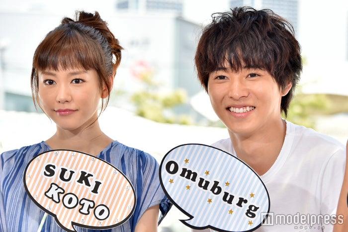 「好きな人がいること」に出演中の桐谷美玲、山崎賢人(C)モデルプレス