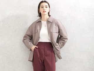 ブラウンパンツコーデ《2021春》一着は持ちたい女度をあげるおすすめアイテム