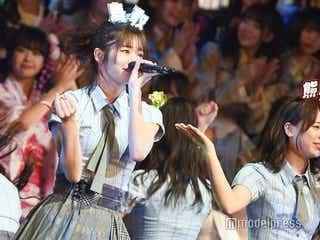 AKB48グループ楽曲総選挙、チーム8が悲願の1位 横山由依も涙<100位~1位/AKB48リクアワ>