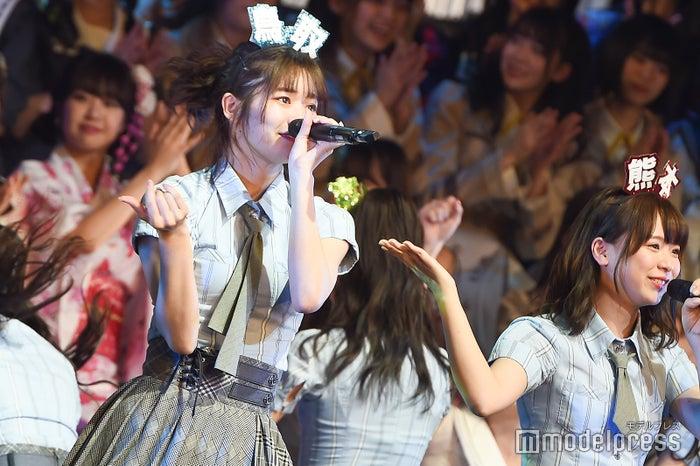 中野郁海、倉野尾成美「AKB48グループリクエストアワー セットリストベスト100 2019」 (C)モデルプレス