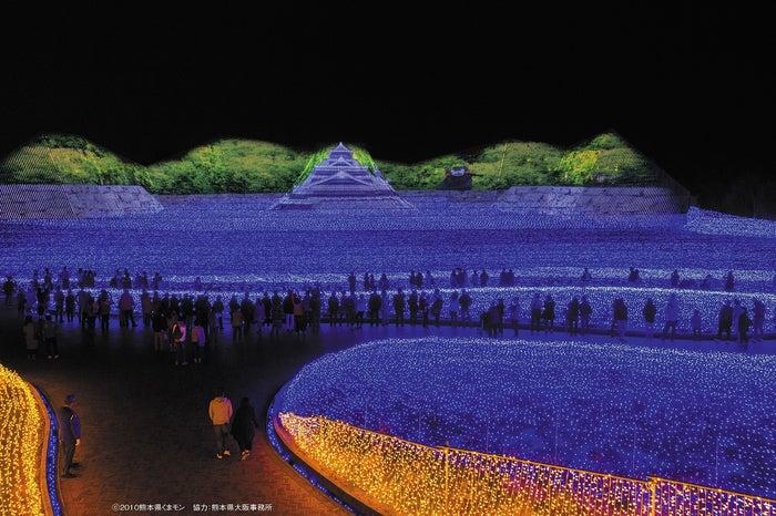 なばなの里 イルミネーション/三重県桑名市/画像提供:ぴあ