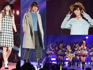 マギー、八木アリサら豪華モデル集結 NMB48もショー&ライブで盛り上げる<写真特集/日本女子博覧会>