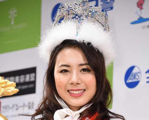 「2017ミス日本」20歳の女子大生がグランプリで涙 W受賞に驚き