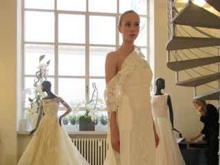 【イタリア展示会レポ 】おしゃれ花嫁に人気「PETER LANGER (ピーターラングナー)」の2020年新作ドレス