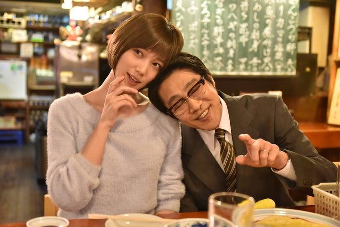 本田翼、堤真一(C)日本テレビ