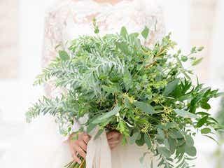白×グリーンの組み合わせが可愛い!春婚におすすめグリーンのナチュラルアイテム集