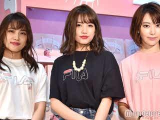 """AKB48入山杏奈&加藤玲奈、宮脇咲良の""""オシャレ事情""""暴露"""