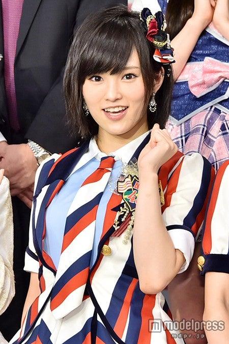 「第7回AKB48選抜総選挙」に向け、意気込みを語った山本彩【モデルプレス】