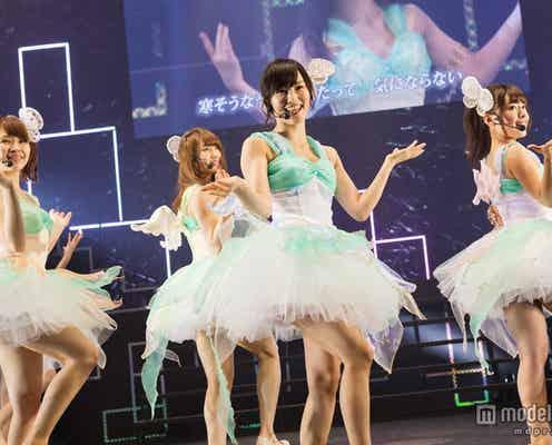 NMB48山本彩が1位獲得 総勢63人出演で2300人のファンと一体<リクエストアワー1日目>