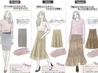 【骨格タイプ別】着るだけで即美人に見える、スカートの選び方