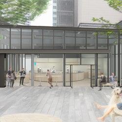 「ブルーボトルコーヒー みなとみらいカフェ」横浜2号店は公園に溶け込むデザイン空間