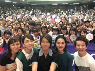 山下智久、新垣結衣・戸田恵梨香らと自撮り「コード・ブルー」ファンミで初MC&トラブルも発生