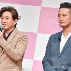 TOKIO城島茂・松岡昌宏、ジャニー喜多川さん家族葬は「粋な演出」「笑顔で送り出したい」
